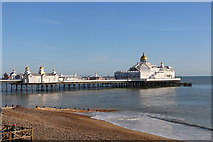 TV6198 : Midday, Christmas Day 2019 view of Eastbourne Pier by Andrew Diack