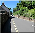 SS9843 : West along West Street, Dunster by Jaggery