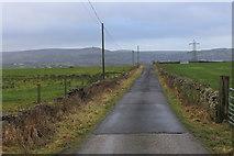 SD7125 : Access Lane to Higher Springfield Farm by Chris Heaton