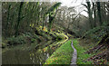 SJ7924 : Canal passing through cutting by Trevor Littlewood