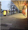 ST3188 : Pre-dawn approach to Iceland, Clarence Place, Newport by Jaggery