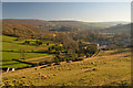 SK2275 : Derwent Valley at Stoney Middleton, Derbyshire by Andrew Tryon