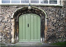 TG2309 : St Helen Bishopgate - old doorway into the infirmary hall by Evelyn Simak