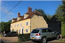 TL4239 : House on Chishill Road, Heydon by David Howard