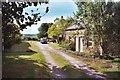 SE1867 : North Oaks Farm entrance by John Webb