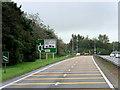 NS3334 : A78 near Auchengate by David Dixon