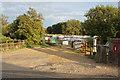 TF5801 : Entrance to West Norfolk Rowing Club by Bill Boaden