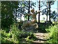NS9081 : Wicker centaur, Helix Park by Stephen Craven
