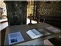 SY9675 : Altar at St Aldhelm's Chapel, St Aldhelm's Head, Worth Matravers by Phil Champion