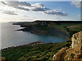 SY9576 : View towards Chapman's Pool and Houns-tout cliff from Emmetts Hill by Phil Champion