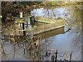 SO8843 : Sluice gate by Philip Halling