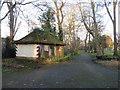 TQ2668 : Derelict toilets in Ravensbury Park, Mitcham by Malc McDonald