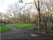 TQ2668 : Squirrel on the path, near Mitcham by Malc McDonald