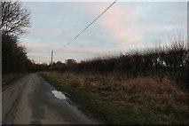 ST9068 : Folly Lane West, Lacock by David Howard