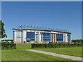 NS9080 : Falkirk Stadium from the west by Stephen Craven
