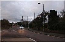 ST8769 : Roundabout on Pound Pill, Corsham by David Howard