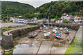 SS7249 : Lynmouth Harbour by Ian Capper