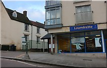 ST9971 : Laundrette on Curzon Street, Calne by David Howard