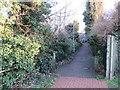TQ2766 : Wandle Trail near St Helier by Malc McDonald