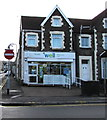 SS7597 : Well Pharmacy, Orchard Street, Neath by Jaggery