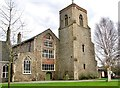 TG2309 : The Great Hospital - Infirmary Hall and Derlyngton's Tower by Evelyn Simak