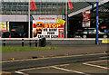 SO9298 : Evans Halshaw advertising board, 67-71 Bilston Road, Wolverhampton by P L Chadwick