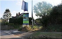 TL4423 : The entrance to Lime Grove, Little Hadham by David Howard
