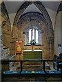 SZ0382 : The sanctuary - St Nicholas' Church, Studland by Phil Champion