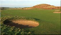NU2422 : Dunstanburgh Castle Golf Course by Derek Harper