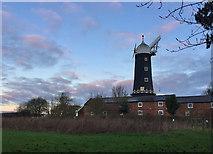 TA0233 : Sail-less windmill, Skidby by Paul Harrop