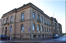 NS3321 : County Buildings, Ayr, South Ayrshire by Mark S