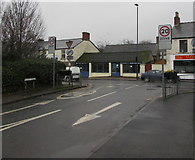 SO6302 : Junction of Oxford Street and High Street, Lydney by Jaggery