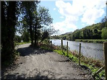 J0923 : View South along the Newry Greenway by Eric Jones