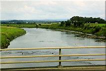 NY3564 : River Esk near Metal Bridge by David Dixon