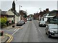 NS3525 : Prestwick Main Street (A79) by David Dixon