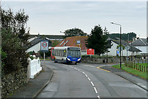 NS2107 : Stagecoach Bus passing through Maidens by David Dixon