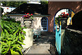 SH5837 : Entrance to The Round House at Portmeirion by Jeff Buck
