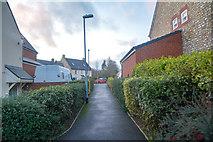 ST2112 : Churchinford : Footpath by Lewis Clarke