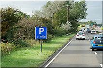 NS3727 : Northbound A77 near Monkton by David Dixon