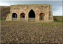 NU1341 : Lime kilns, Holy Island by Derek Harper