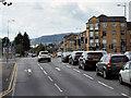 NS4969 : Traffic Lights on Glasgow Road by David Dixon