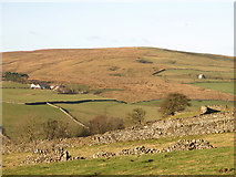 NY9539 : The lower Rookhope valley around Hanging Wells by Mike Quinn