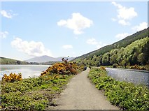 J1021 : Approaching Victoria Lock on the Newry Greenway by Eric Jones
