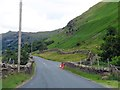 NY4011 : The A592 crossing Caudale Bridge by Steve Daniels
