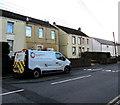 SN8108 : Wales & West Utilities van, Church Road, Seven Sisters by Jaggery