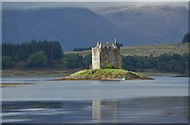 NM9247 : Castle Stalker by Mary Rodgers