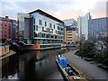 SJ8498 : Rochdale Canal, Ducie Street Junction and Piccadilly Basin by David Dixon