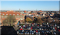 SE6051 : Castle car park seen from Clifford's Tower by habiloid