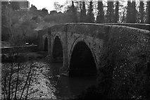 SO5074 : Dinham Bridge, Ludlow. by John Winder