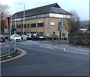 SS7597 : Neath Police Station, Gnoll Park Road, Neath by Jaggery